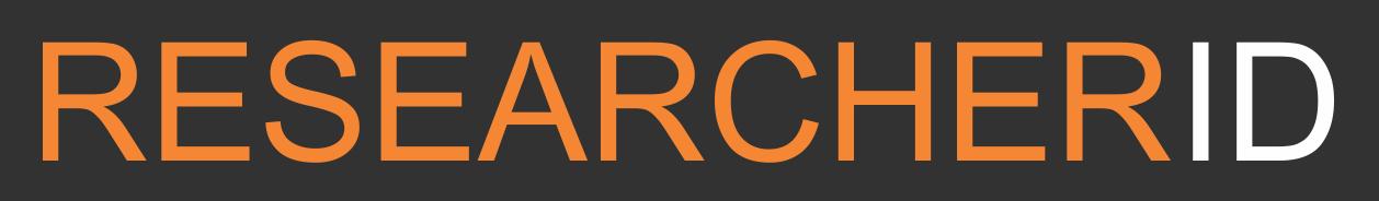 ResearcherID Badge